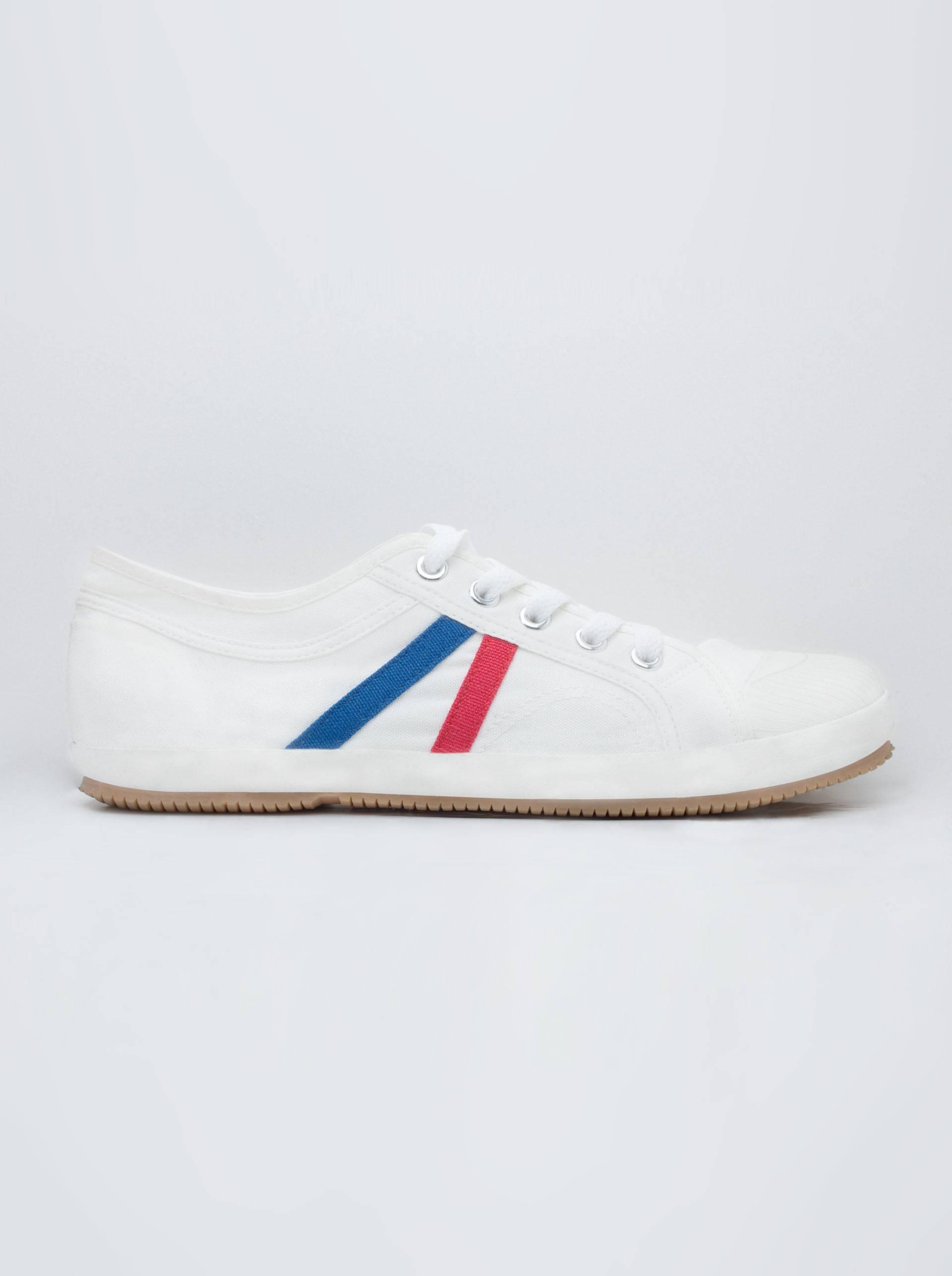 手工帆布鞋-白