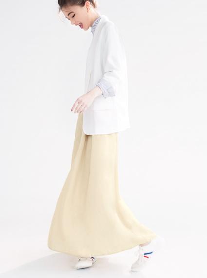 氣質拋袖西裝外套-白