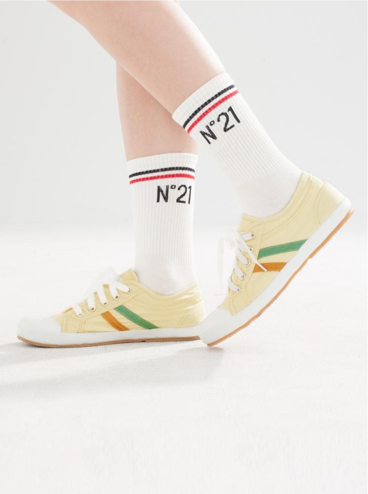 手工帆布鞋-米黃