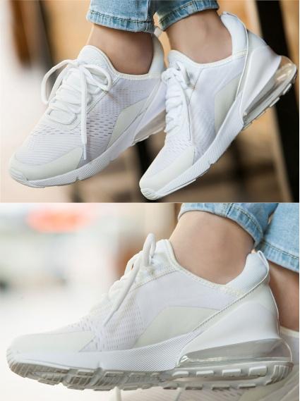 極輕氣墊運動鞋-白